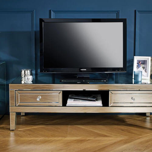 Mirrored TV Units