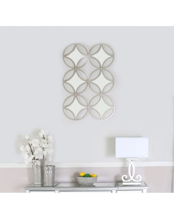 105cm Decorative 6 Mirror Wall Mirror
