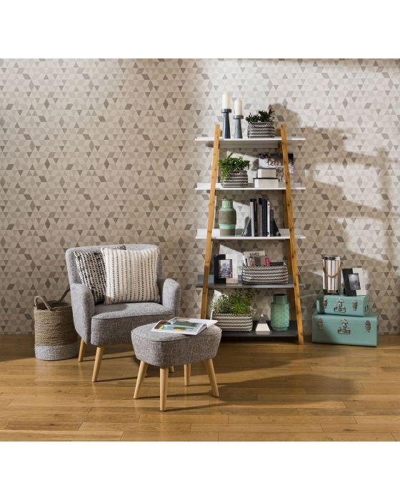 Scandinavian Inspired Bamboo Multi Shelf Unit