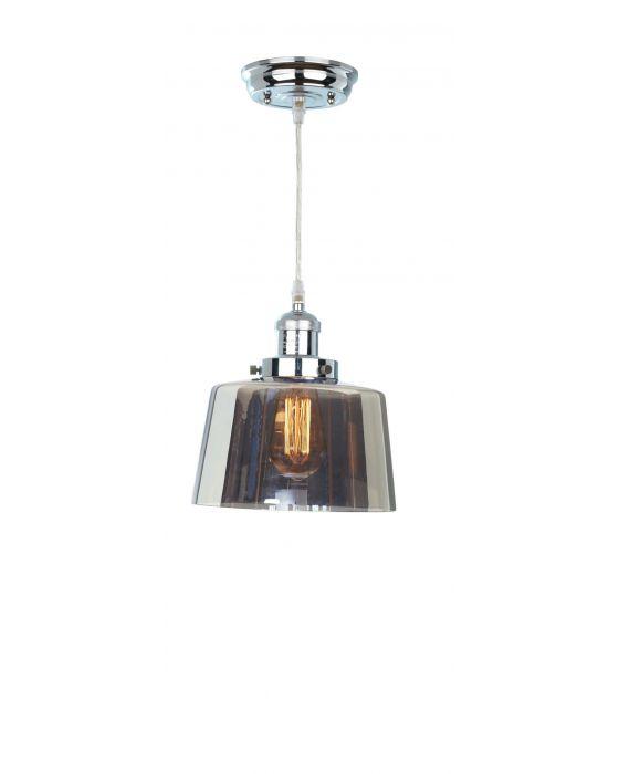 Acton Smoked Glass Lantern