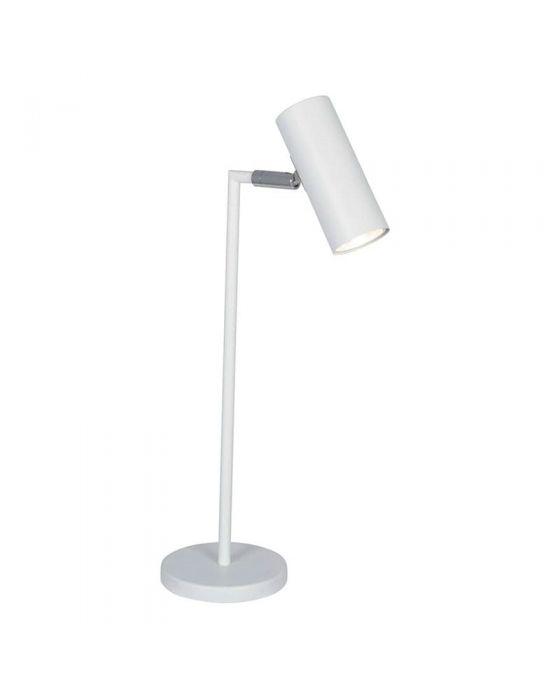 Adjustable White Task Table Lamp