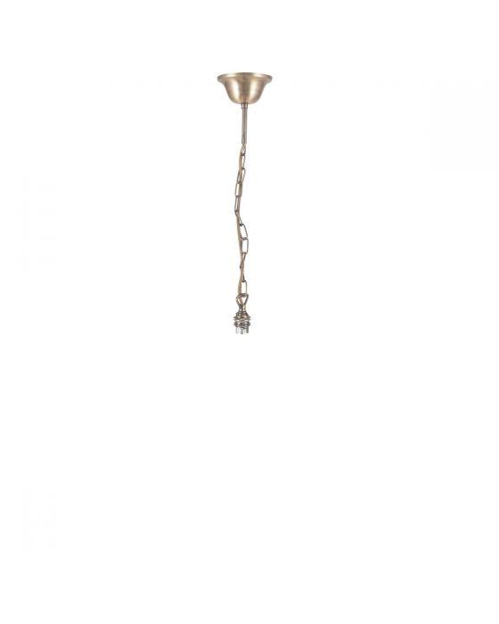 Antique Brass Bulb Holder Ceiling Light