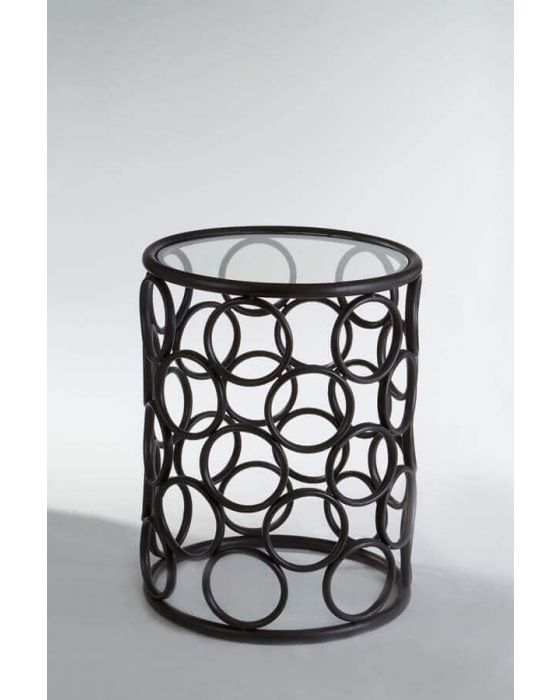 Arouna Metal Bubble Design Side Table