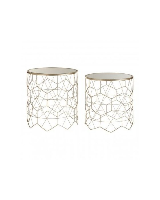 Arcana Geometric Set of 2 Tables