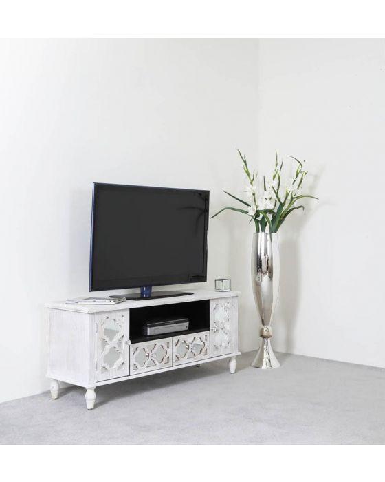 Beach Walk Mirrored TV Unit