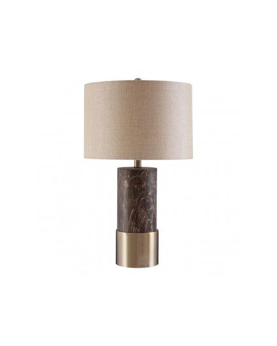 Carin Brown Iron Table Lamp