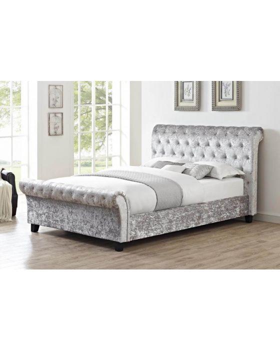Casa Crushed Velvet Bed Frame