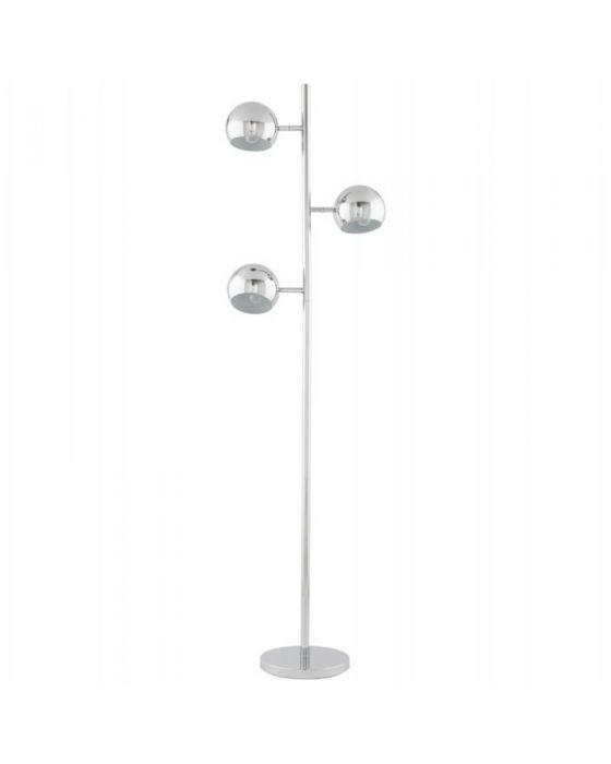 Chrome 3 Spotlight Floor Lamp