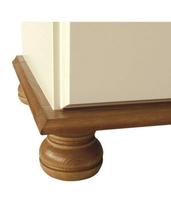 Copenhagen 3 Drawer Bedside Cabinet