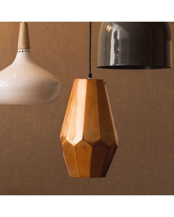 Retro Large Copper Finish Pendant Light