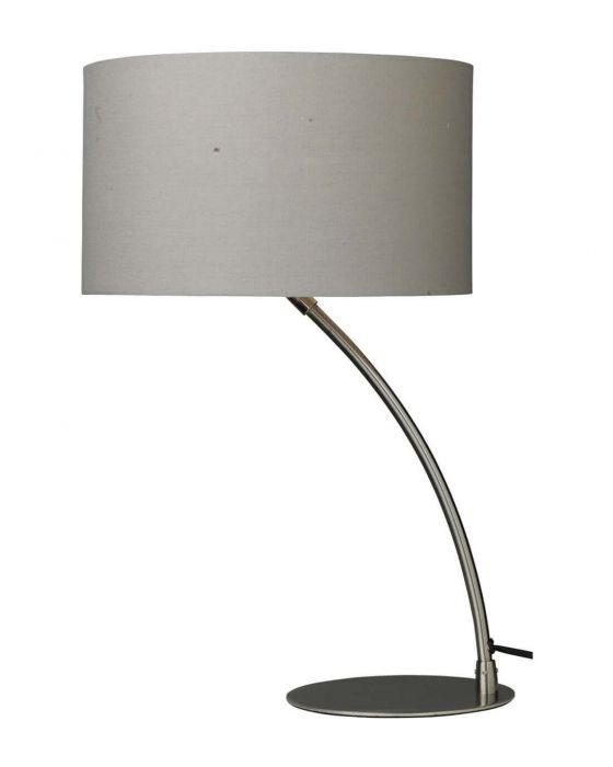 Cristina Curved Chrome Table Lamp