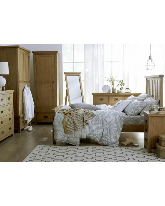 Eden Oak Bed Frame