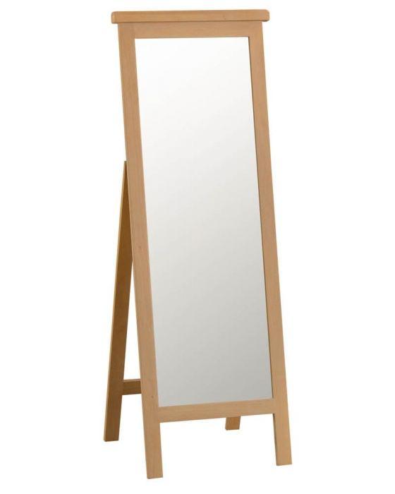 Eden Oak Cheval Mirror