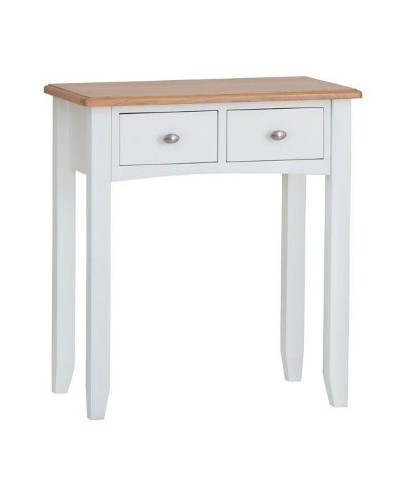Gaetan Oak 2 Drawer Dressing Table