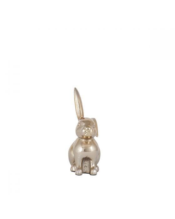 Gold Metal Rabbit Ornament