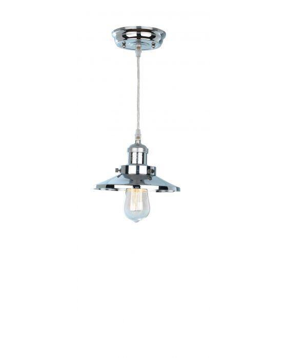 Holborn Metal Lantern Chrome