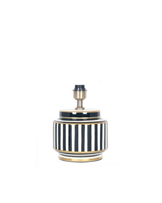 Humbug Petite Mono Black and White Small Table Lamp