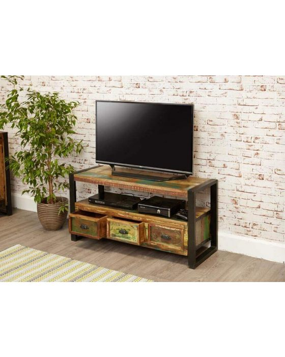 Industrial Reclaimed TV Cabinet