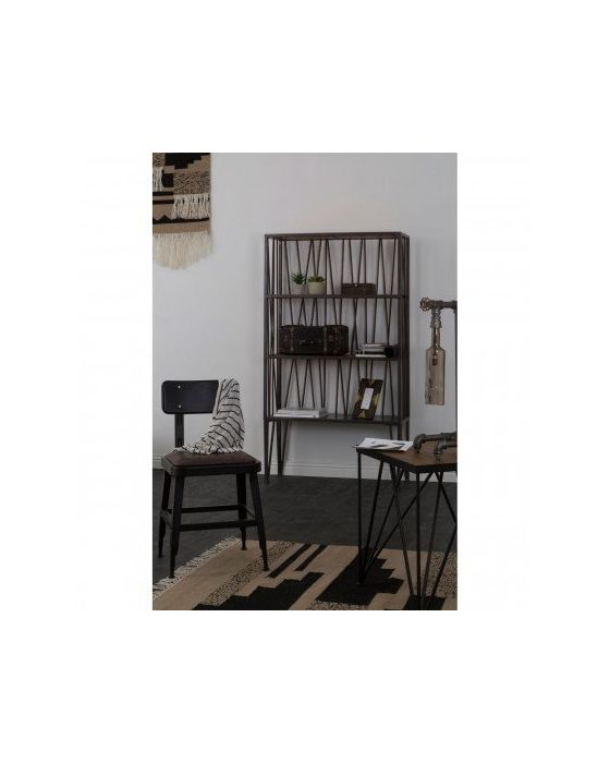 Industrial Foundry Side Table