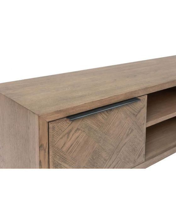 Irina Aged Grey TV Cabinet
