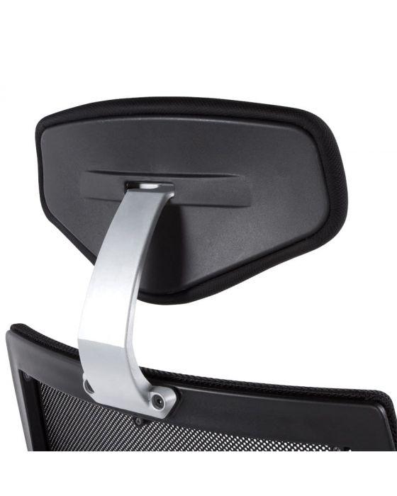 Isak Black Fabric Ergonomic Office Chair