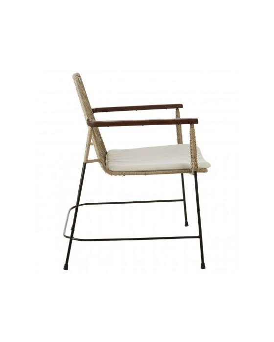 Java Grey Traditional Design Chair