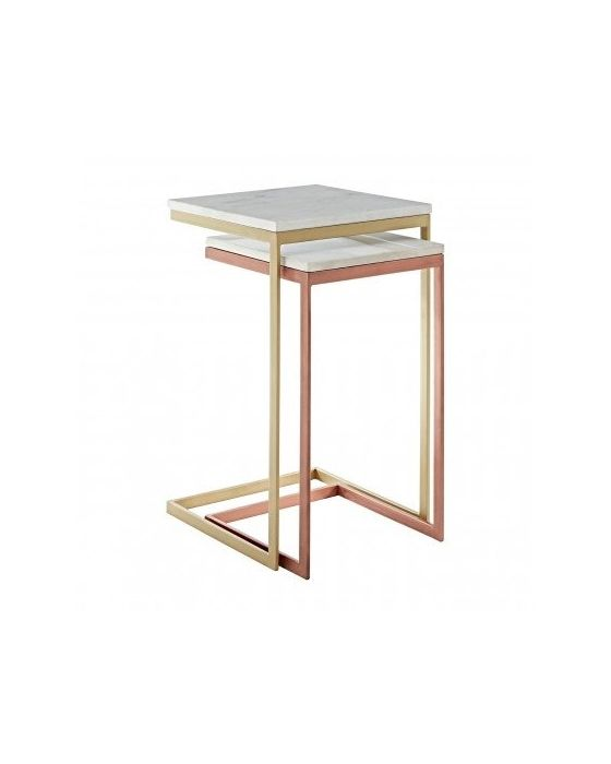 Kanpur Copper & Brass Nest of Tables