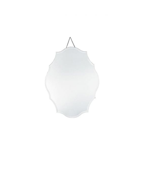 Katie Glass Scalloped Wall Mirror