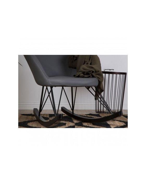 Kolding Dark Grey Rocking Chair