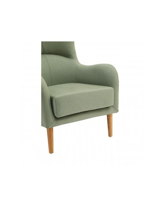 Kolding Green Fabric Chair