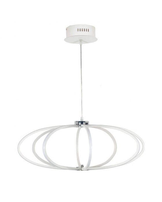 Langston White LED Pendant