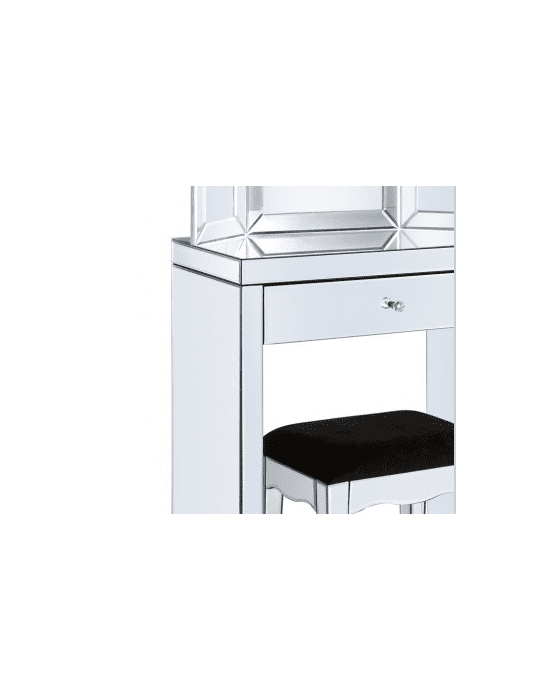 Little Mirrored Dressing Table Set