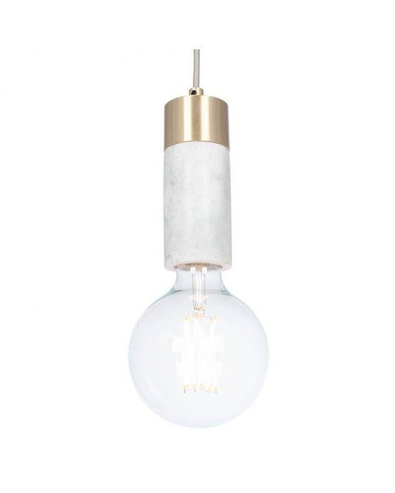 Marble Bulb Holder Pendant