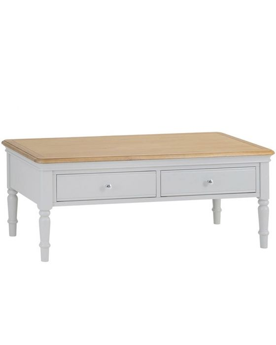 Mendes Soft Grey Coffee Table