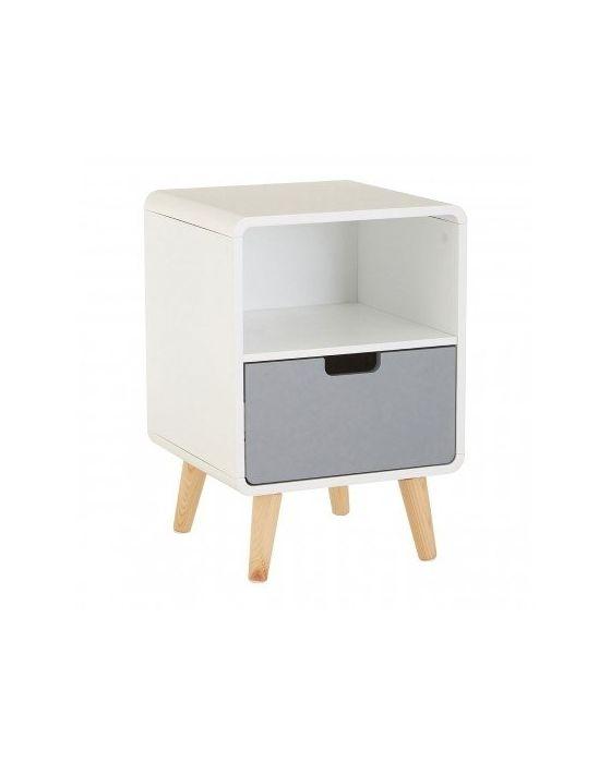 Milo 1 Drawer Bedside Cabinet