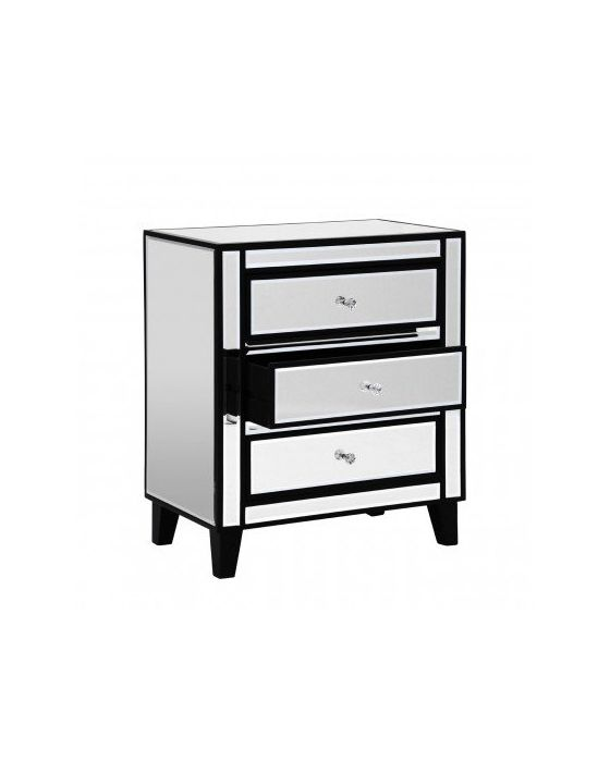 Mirrored Boulevard Chest of Drawers