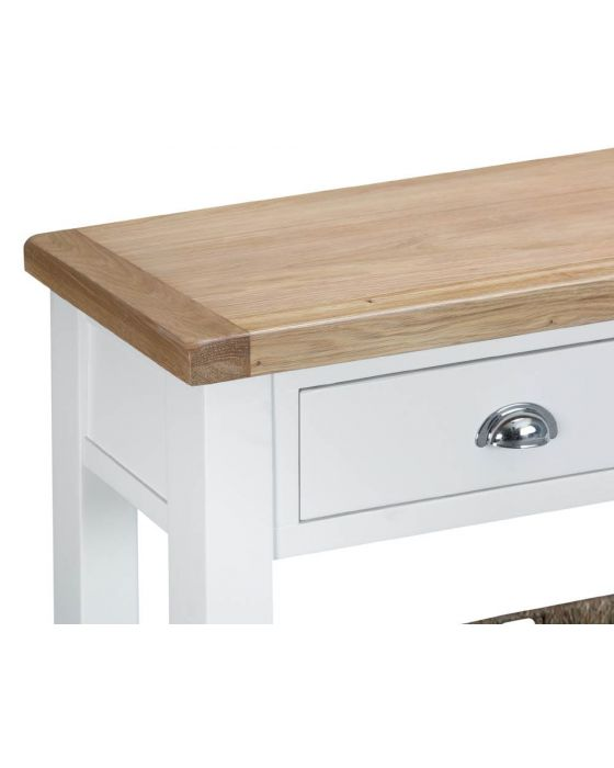 Newholme White Console Table
