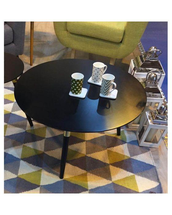 Nolsa Black and Copper Coffee Table
