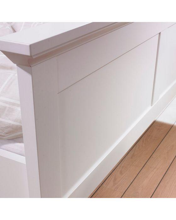Paris Bed Frame White or Grey