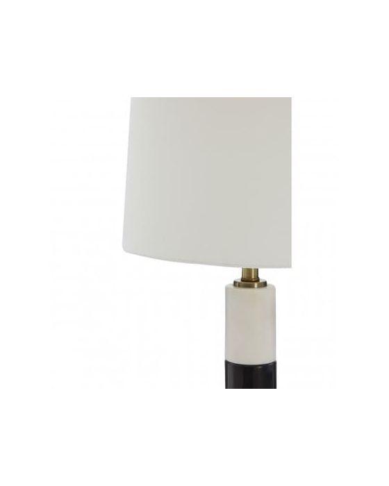 Ragna Black Marble Table Lamp