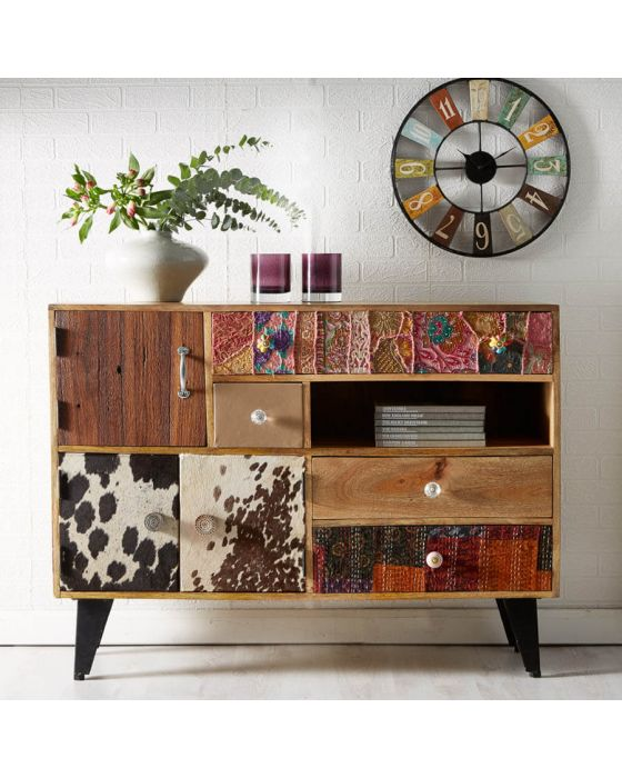 Retro Patch Large Sideboard