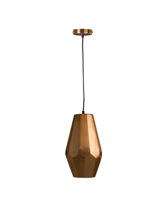 Retro Small Copper Finish Pendant Light - Pack of 2