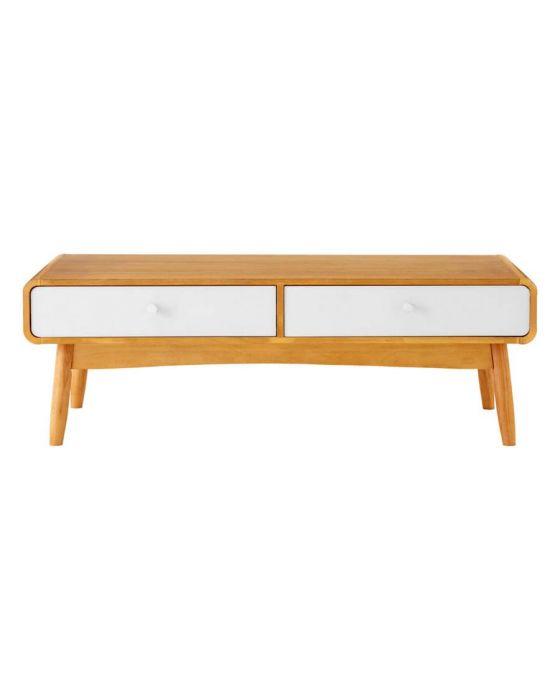 Scandinavian Inspired Oak Veneer Coffee Table