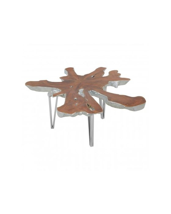 Shakir Star Table Top Stainless Steel Coffee Table