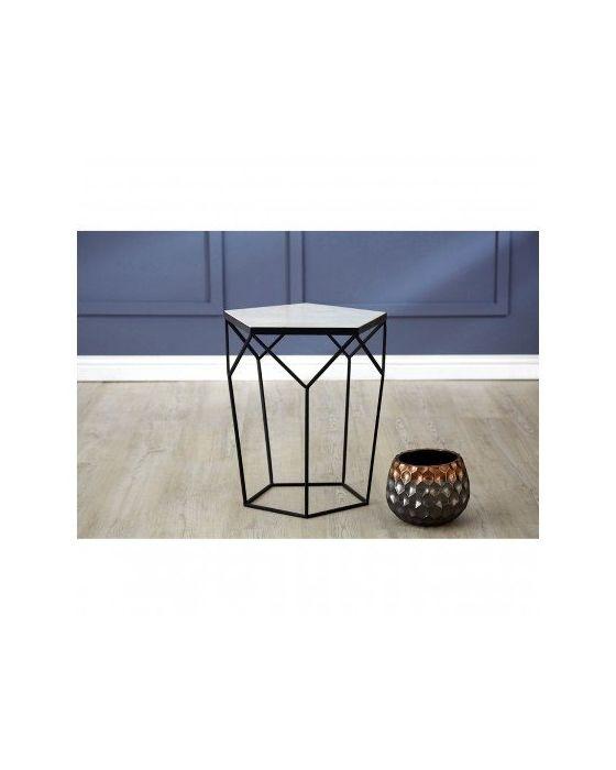 Shazaar Marble Side Table