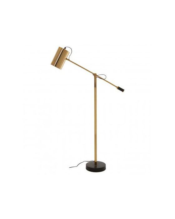 Soraya Black & Gold Floor Lamp