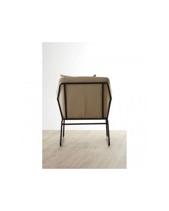 Stockholm Wire Frame Grey Chair