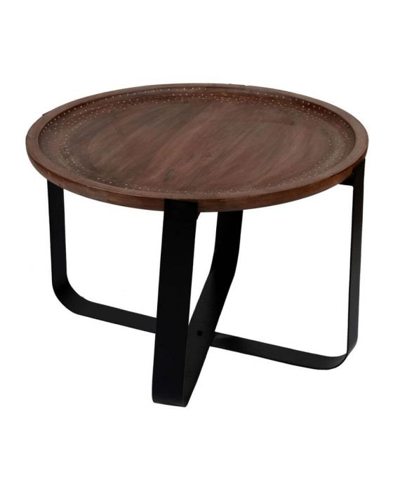 Temple Mango Wood Tray Style Coffee Table