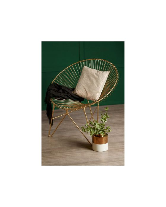 Trinity Iron Chair with Hairpin Legs