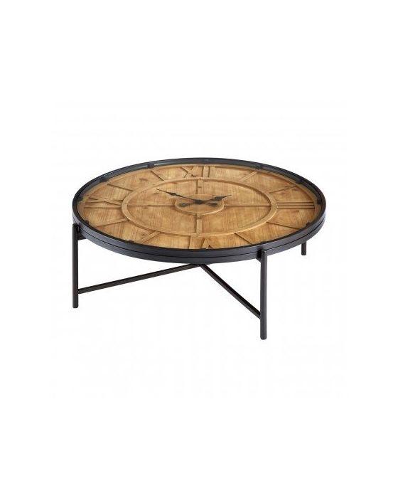 Trinity Round Clock Face Coffee Table